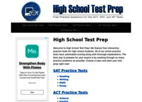Highschooltestprep.com thumbnail