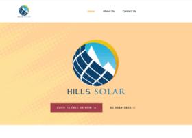 Hillssolar.com.au thumbnail
