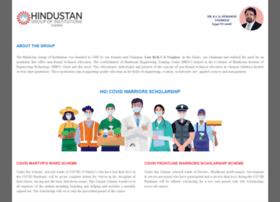 Hindustan.ac.in thumbnail