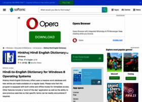 Hinkhoj-hindi-english-dictionary.en.softonic.com thumbnail
