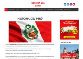 Historiadelperu.info thumbnail