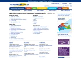 Hnhbhealthline.ca thumbnail