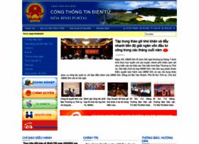 Hoabinh.gov.vn thumbnail