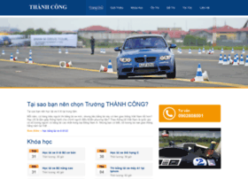 Hocbanglaixe.com.vn thumbnail