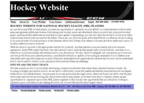 Hockeywebsite.ca thumbnail