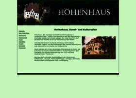 Hohenhaus.net thumbnail