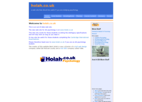 Holah.karoo.net thumbnail
