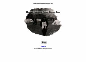 Holocaustresearchproject.org thumbnail