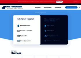 Holyfamily-hospital.org thumbnail