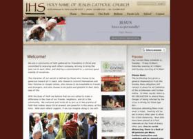 Holynamestlouis.org thumbnail