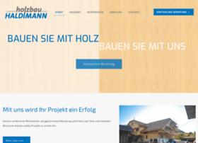 Holzbau-haldimann.ch thumbnail