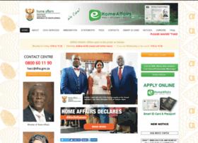 Home-affairs.gov.za thumbnail