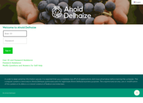 Ahold Secure Web Application Signon.
