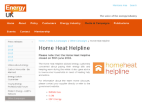 Homeheathelpline.org.uk thumbnail