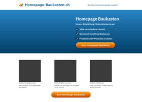 Homepage-baukasten.ch thumbnail