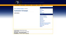 Homepages.se.edu thumbnail