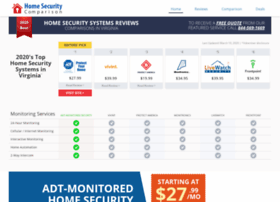Homesecuritycomparison.net thumbnail