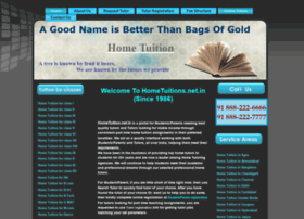 Hometuitions.net.in thumbnail