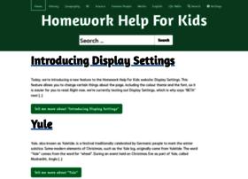 Homeworkhelpforkids.co.uk thumbnail