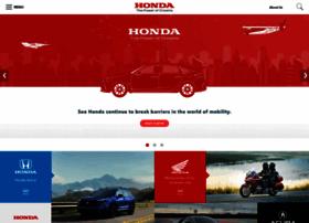 Honda.com thumbnail