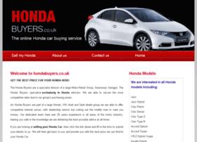 Hondabuyers.co.uk thumbnail