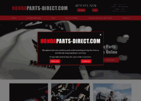 Hondaparts-direct.com thumbnail