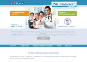 Honorararztagentur.de thumbnail