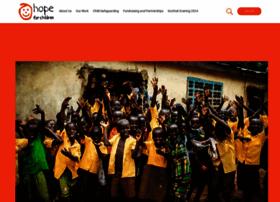 Hope-for-children.org thumbnail
