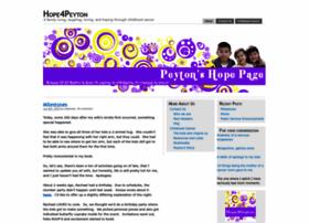 Hope4peyton.org thumbnail