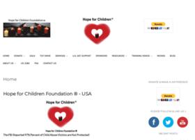 Hopeforchildrenfoundation.org thumbnail