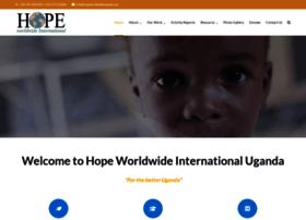 Hopeworldwideuganda.org thumbnail