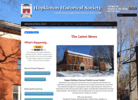 Hopkintonhistory.org thumbnail