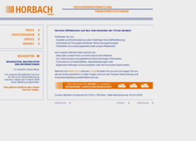 Horbach-gmbh.org thumbnail