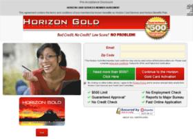 Horizoncardservices.com thumbnail