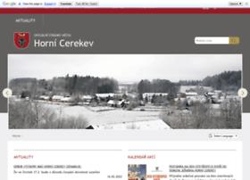 Hornicerekev.cz thumbnail