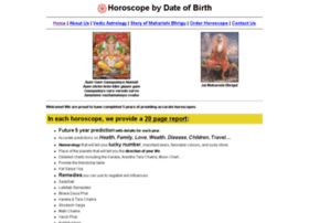 Horoscopebydateofbirth.in thumbnail