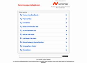 Horrormoviesurvivalguide.com thumbnail