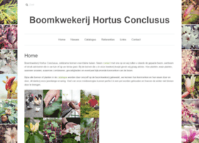 Hortusconclusus.be thumbnail