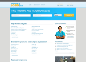 Hospitaljobsonline.com thumbnail
