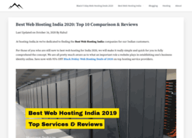 Hosting-india.in thumbnail