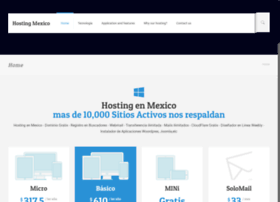 Hostingenmexico.com.mx thumbnail
