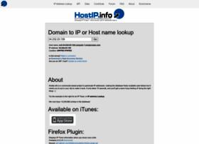 Hostip.info thumbnail
