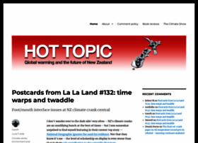 Hot-topic.co.nz thumbnail