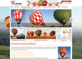 Hotairballooning-india.com thumbnail