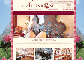Hotel-alpenrose-mittenwald.de thumbnail