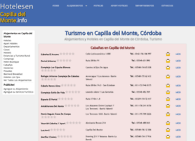 Hotelesencapilladelmonte.info thumbnail