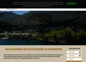 Hotelresort-klopeinersee.at thumbnail