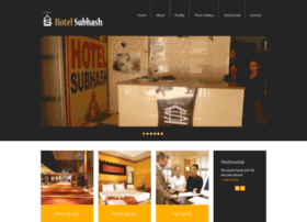 Hotelsubhash.com thumbnail