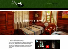 Hoteltierraverde.com thumbnail