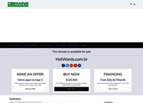 Hotwords.com.br thumbnail